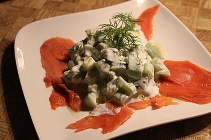 Gurken-Lachs-Salat 7
