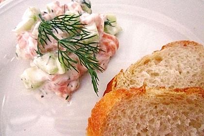 Gurken-Lachs-Salat 6