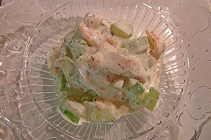 Gurken-Lachs-Salat 3