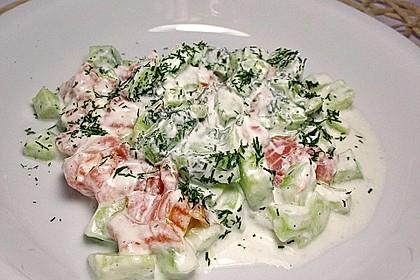 Gurken-Lachs-Salat 5