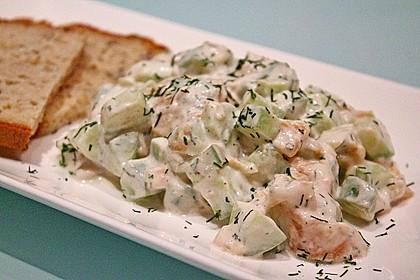 Gurken-Lachs-Salat