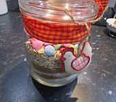 Bunte Cookies als Backmischung (Bild)