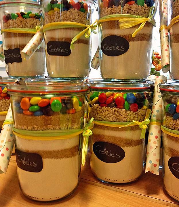 Bunte Cookies Als Backmischung Von Ninakoln Chefkoch De