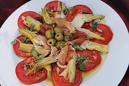 Antipasti Salat (Bild)