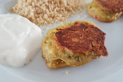 Schnelle Falafel aus Kichererbsenmehl 6