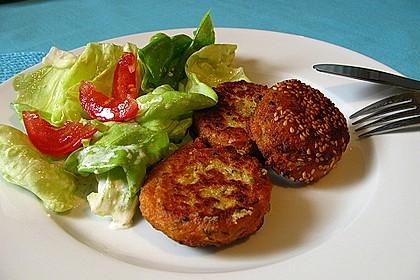 Schnelle Falafel aus Kichererbsenmehl 3