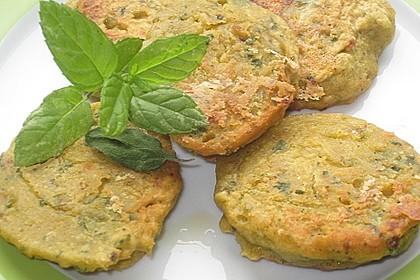 Schnelle Falafel aus Kichererbsenmehl 9