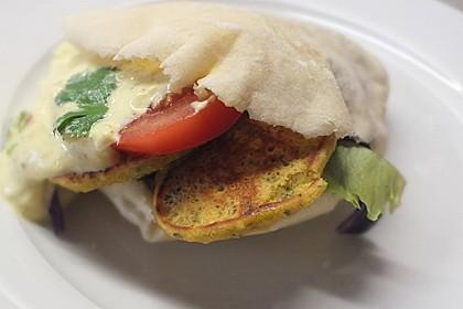 Schnelle Falafel aus Kichererbsenmehl 8