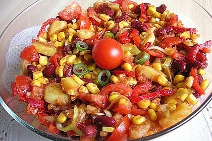 Gemüsesalat mexikanische Art 9