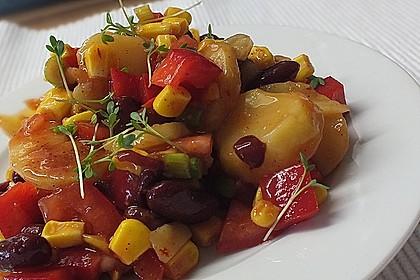 Gemüsesalat mexikanische Art 1
