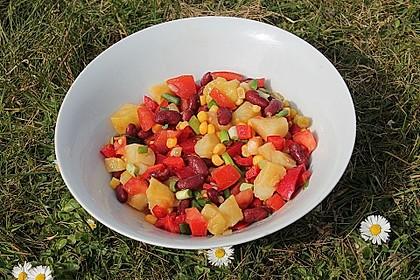 Gemüsesalat mexikanische Art 6