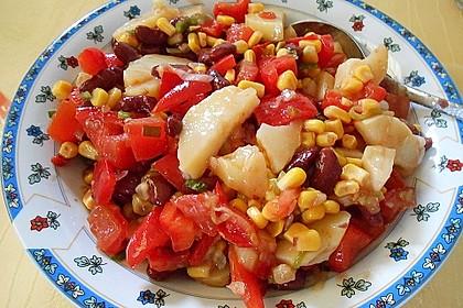 Gemüsesalat mexikanische Art 5