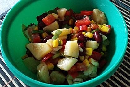 Gemüsesalat mexikanische Art 8