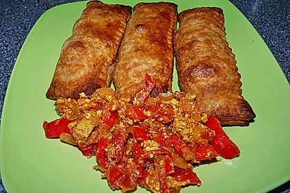 Curry-Mango-Tofu Blätterteigtaschen 2