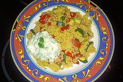 Schnelles Curry-Couscous-Gemüse aus dem Wok 2