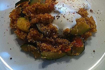 Schnelles Curry-Couscous-Gemüse aus dem Wok 3