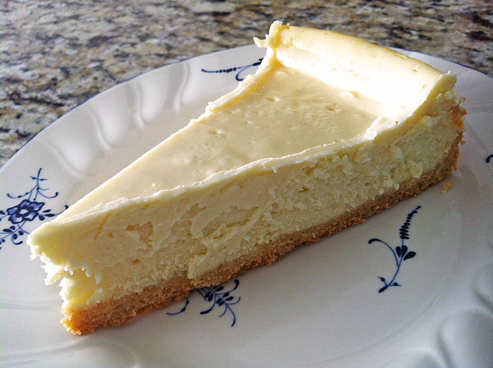 Ny Style Cheesecake Mit Weisser Schokolade Von Kristin0519 Chefkoch De