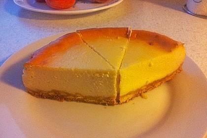 NY-Style Cheesecake mit weißer Schokolade 7