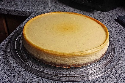 NY-Style Cheesecake mit weißer Schokolade 3