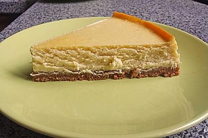 NY-Style Cheesecake mit weißer Schokolade 4