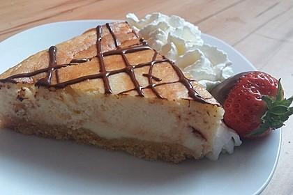 NY-Style Cheesecake mit weißer Schokolade 1