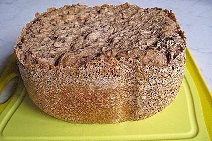 Roggen-Sauerteig-Mischbrot, gebacken im Brotbackautomaten 3