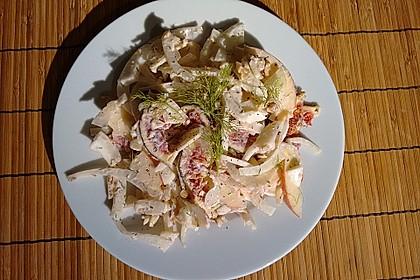 Fenchelsalat mit frischen Feigen 3