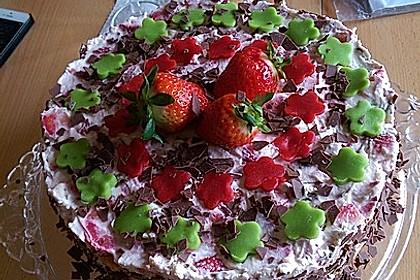 Erdbeer-Yoguretten-Torte à la Nathalie