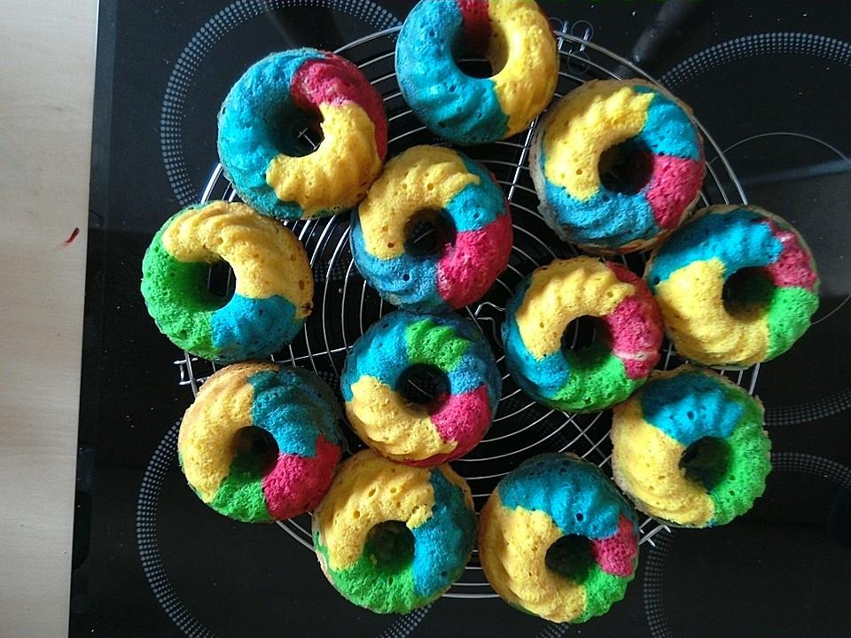 Schnelle Rainbow Muffins Von Schleckermaus95 Chefkoch De