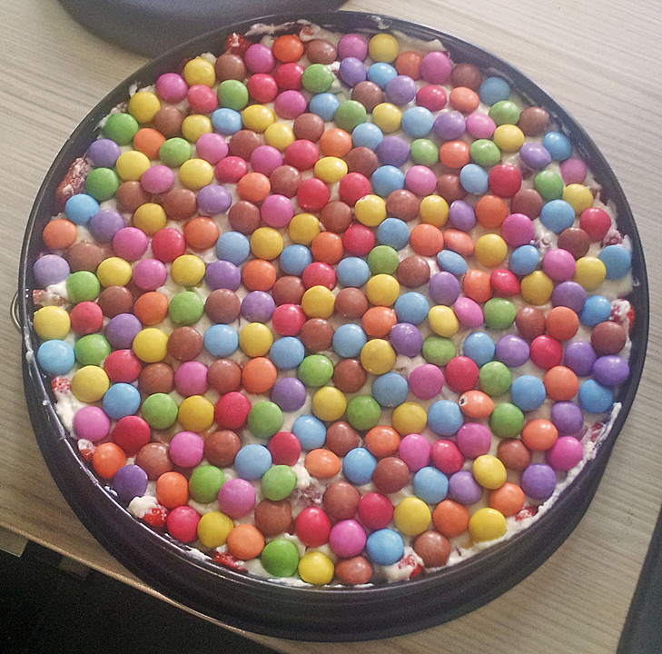 Smarties Torte Von Sumseb Chefkoch De