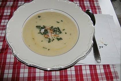 Kohlrabi-Kokos-Suppe 7