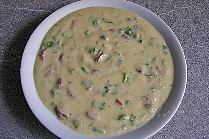 Kohlrabi-Kokos-Suppe 9