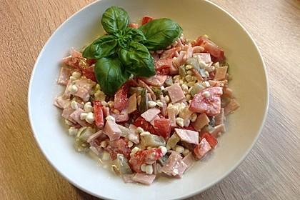 Low Carb Hüttenkäse Salat 1