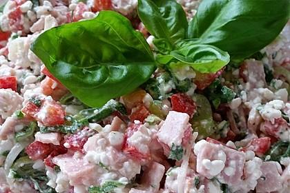 Low Carb Hüttenkäse Salat 16