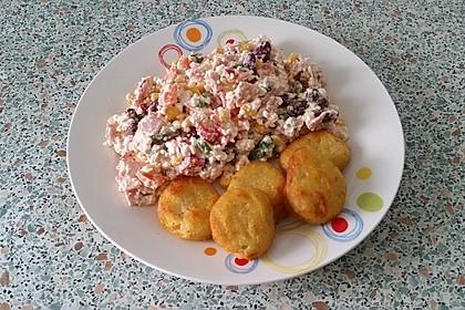 Low Carb Hüttenkäse Salat 5