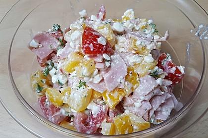 Low Carb Hüttenkäse Salat