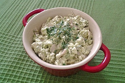 Low Carb Hüttenkäse Salat 19