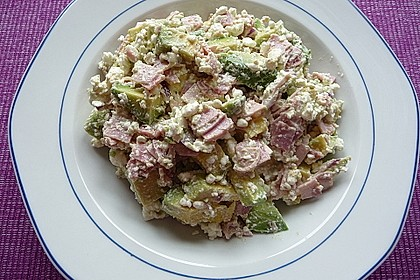 Low Carb Hüttenkäse Salat 10
