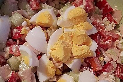 Low Carb Hüttenkäse Salat 8