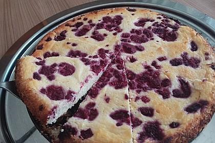 Low Carb-Quarkkuchen mit Früchten 2