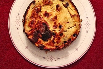 Low Carb-Quarkkuchen mit Früchten 4