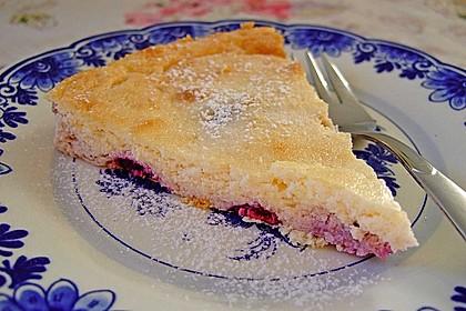 Low Carb-Quarkkuchen mit Früchten 1