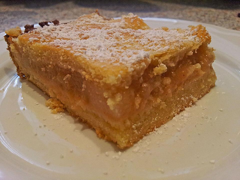 Gedeckter Apfelkuchen Nach Schwiegermutters Rezept Von Waage75