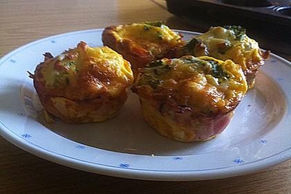 Frühstücks-Muffin mit Ei 2