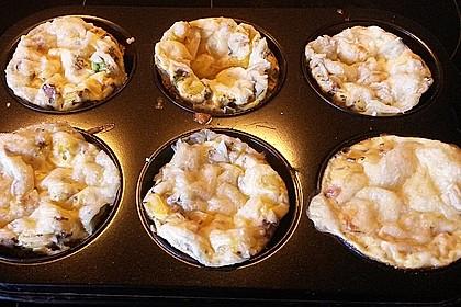 Frühstücks-Muffin mit Ei 4