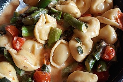 Gnocchi mit grünem Spargel 7