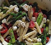 Warmer Pasta-Spargel Salat (Bild)