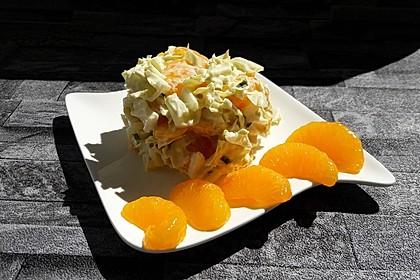 Chinakohlsalat mit Mandarinen