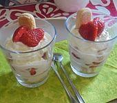 Erdbeeren-Mascarpone-Nachtisch (Bild)