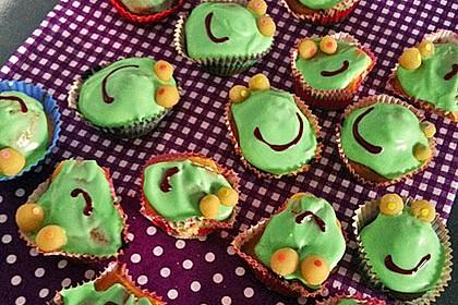 Frosch-Cupcakes